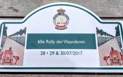 60e Rally Der Vlaanderen